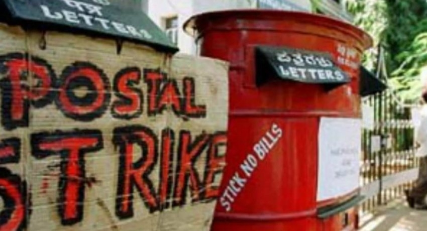 Central Mail Exchange on strike over duty transfer