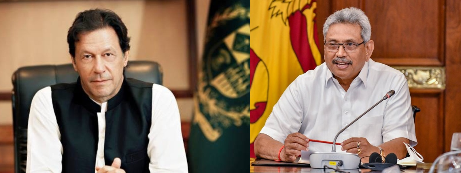 Pakistan PM Khan commend Sri Lanka's efforts to combat COVID-19