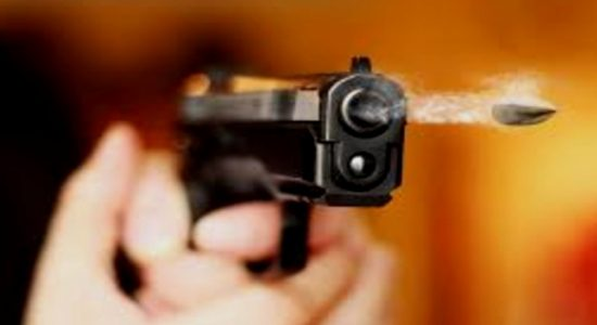 """A criminal wanted for multiple crimes, identified as """" Gona-Kovile Ra'ja """", killed in a shootout with police in Minuwangoda"""