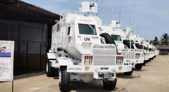 Army-Manufactured Mali-bound Unibuffels Ready for Shipment