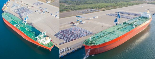 'Marine Hope' largest vessel to call at Hambantota Port