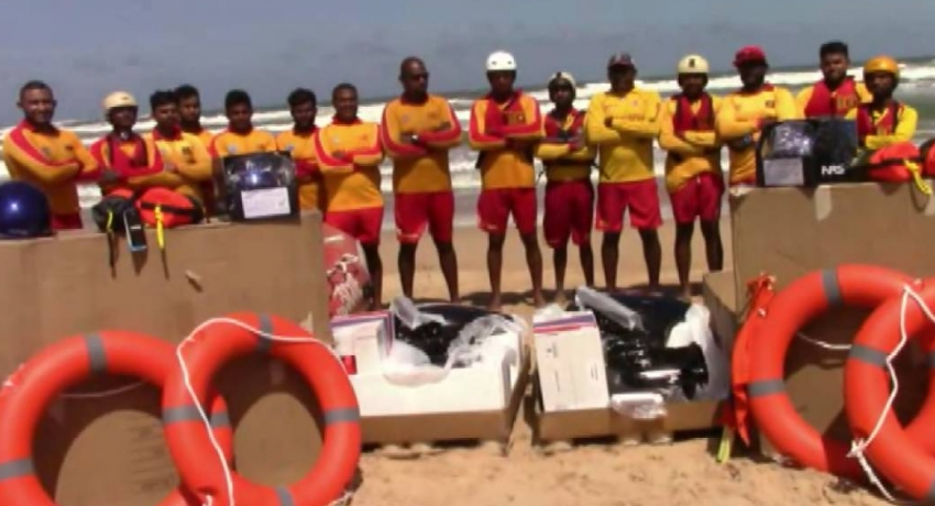 US embassy donates equipment to Sri Lanka Life Saving