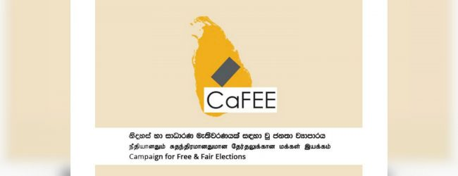 Health guidelines for poll must be gazetted : CaFFE