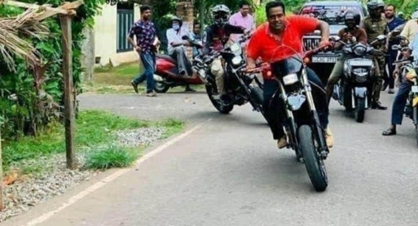 Acting IGP calls for report on candidate riding motorcycle without helmet