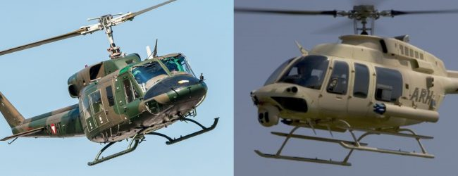 Green light given to purchase 04 used helicopters for SLAF Training