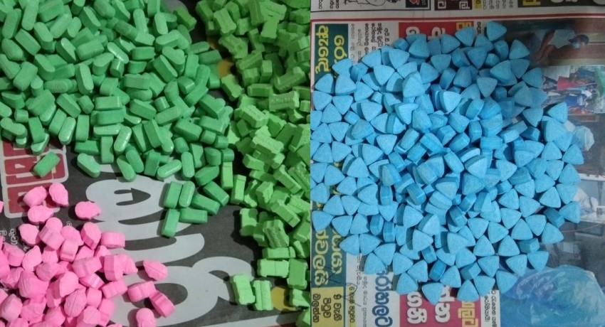 Drug traffickers arrested with 5,600 narcotic pills at a five-star hotel