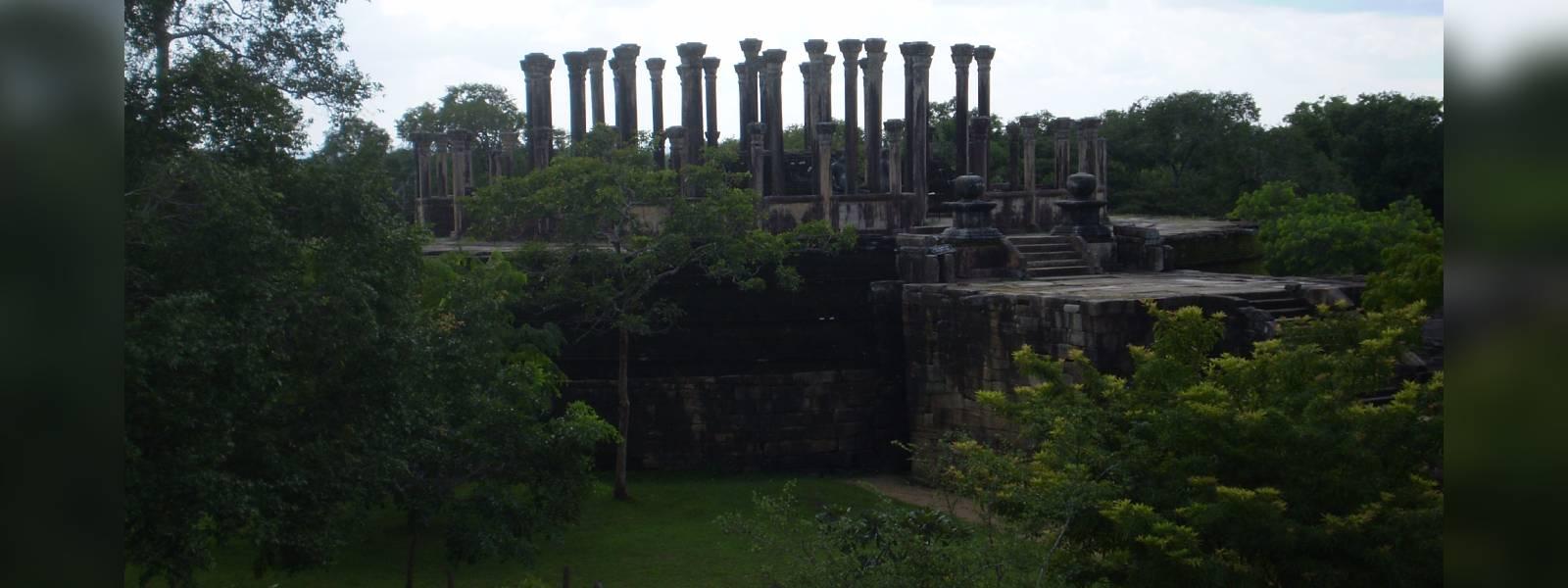 Ancient structure in Medirigiriya on the brink of destruction
