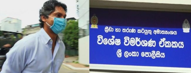 Sanga provides statement for almost 10 hours on Aluthgamage's match-fixing claims