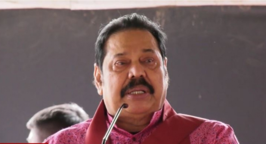 Cast your vote early in the day, says PM Mahinda Rajapaksa