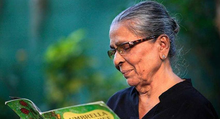 Veteran children's author, Kala Keerthi Sybil Wettasinghe passed away at the age of 93