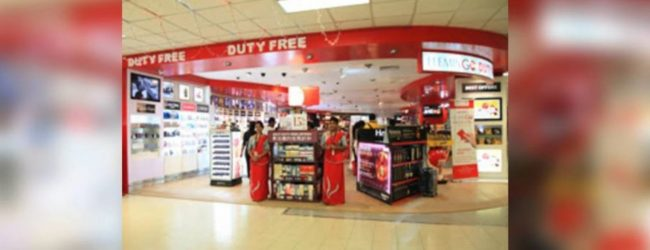Duty-Free shops at the Bandaranaike International Airport re-open today for passengers returned in March and May
