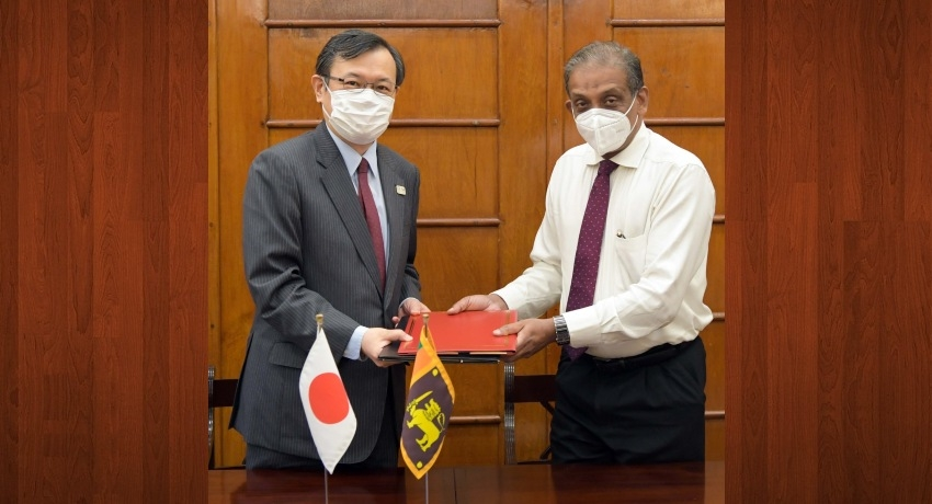 Japan to provide Rs.340 Mn grant to boost anti-narcotic ops.