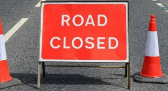 Section of Southern-Expressway closed due to landslide