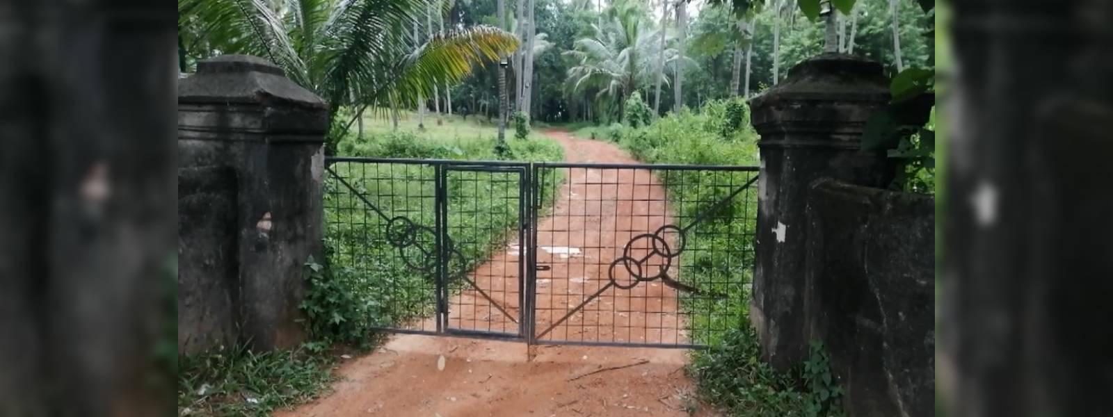 Mystery behind land dispute in Nittambuwa