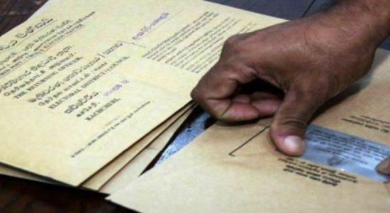 2020 Postal voting begins: NEC