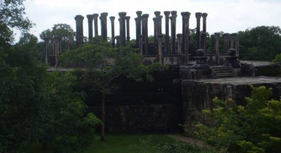 Ancient structure in Medirigiriya on the brink of destruction