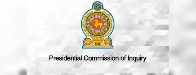 Major General (Retd.) Kapila Hendawitharana and DIG Nalaka De Silva to provide evidence at Presidential Commission appointed to look into the April 21st attacks