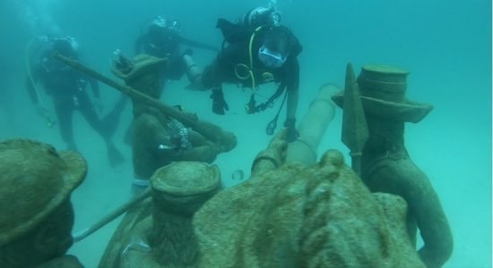 (VIDEO) Second underwater museum in Sri Lanka declared open in Trincomalee