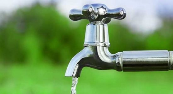 Low-pressure water supply to several areas in Colombo
