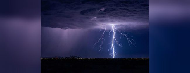 Severe lightning warning issued for several areas: Department of Meteorology