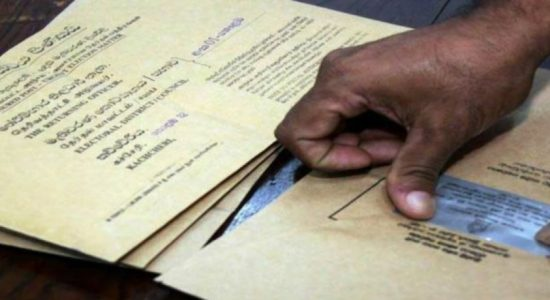Postal voting of 2020 Parliamentary Election continues for 3rd day