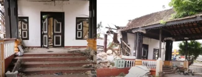 Committee to probe demolition of ancient 'Kings Assembly Hall' in Kurunegala to conduct an on-site inspection