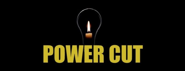 Power-Cut time table based on local grid substations published by CEB