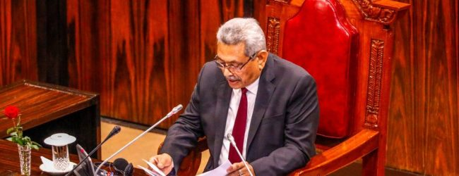 Prime responsibility of MPs is to serve the public; Key points from President's Speech