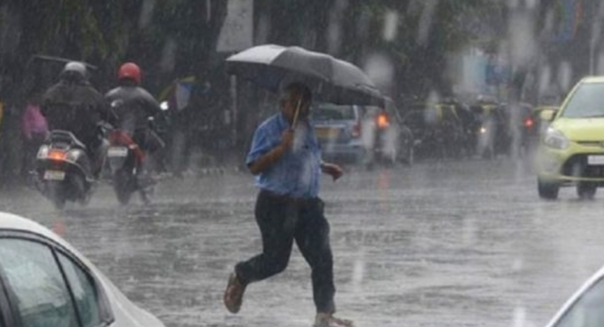 Heavy falls exceeding 100 mm over several areas: Met Department