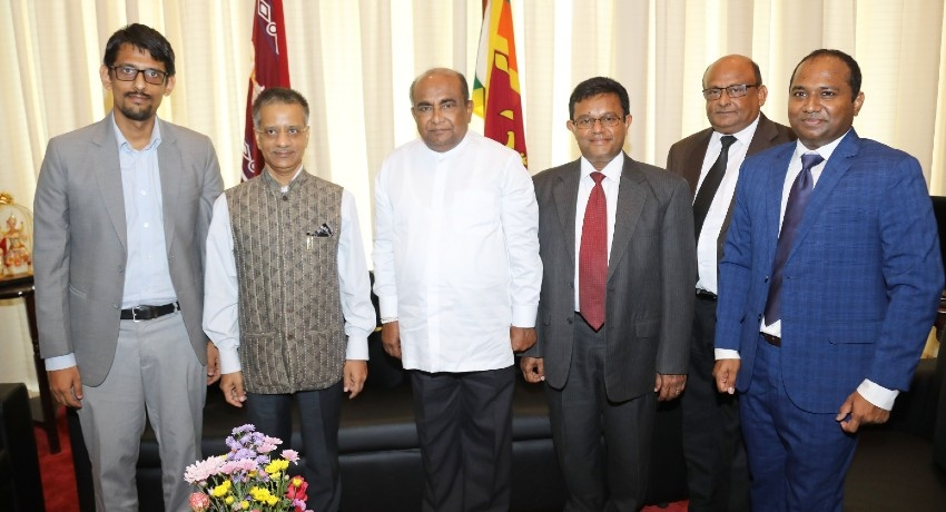 Indian High Commissioner meets with Speaker of Parliament