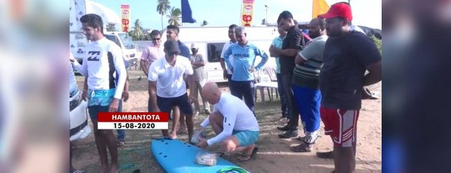 Hambantota beach games takes place for second day