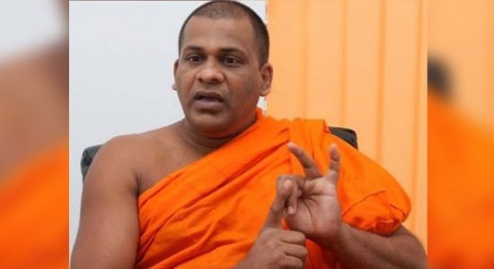 OPPP expecting NEC's decision on parliament seat : Gnanasara Thero