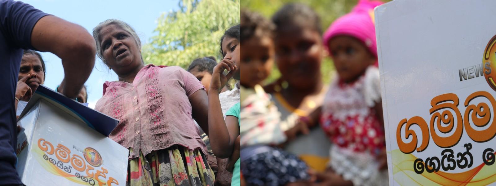 Gammadda continues to walk the length and breadth of Sri Lanka
