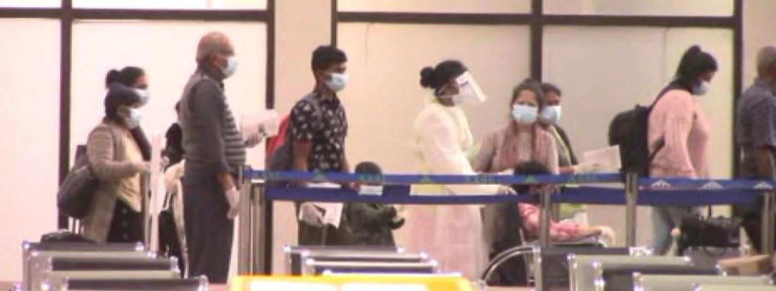 Over 700 Sri Lankans repatriated from overseas, arrive in SL