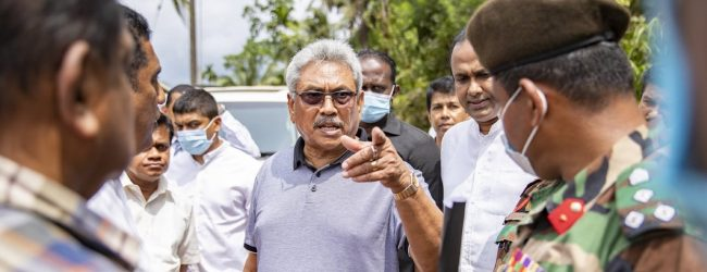 President says road construction must not harm Sinharaja