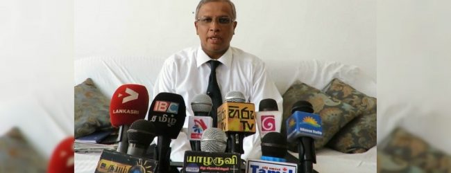 Sumanthiran criticizes government over proposed constitutional amendment