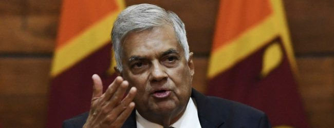 Protest in Kalutara demanding Ranil's resignation