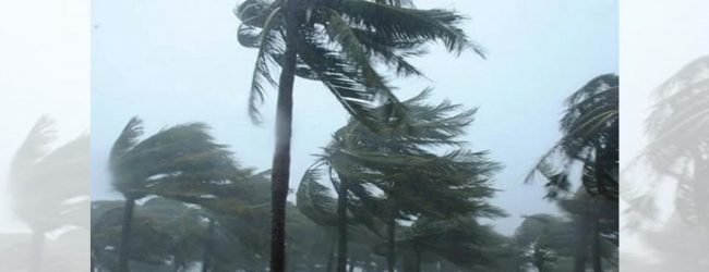 Around 90 houses damaged in Homagama due to strong winds