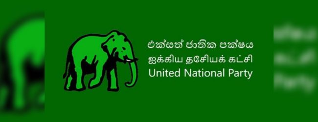RW made it clear about new leadership in the party; UNP