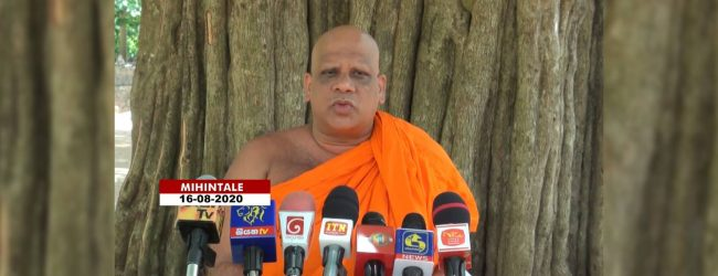 Don't vote for monks, chief incumbent says