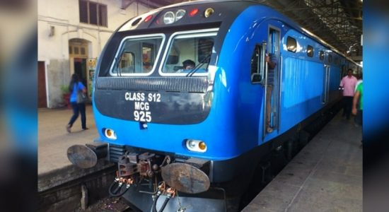Seven injured in a train accident
