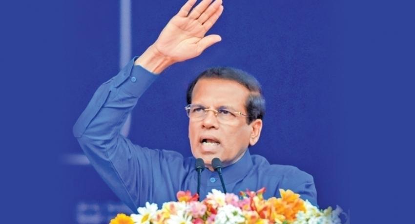 No Ministerial Portfolio for Maithripala Sirisena
