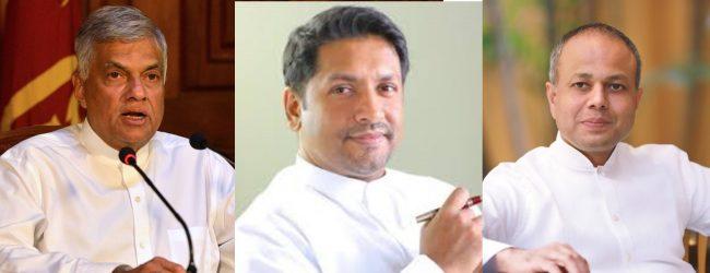 Ranil, Ruwan & Sagala informed to appear at Police Unit of April Attacks PCoI