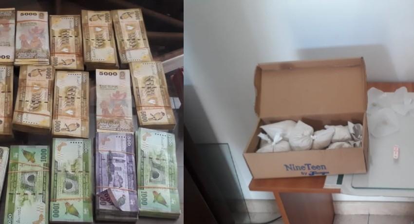Mother & Son arrested for trafficking drugs in Pita-Kotte