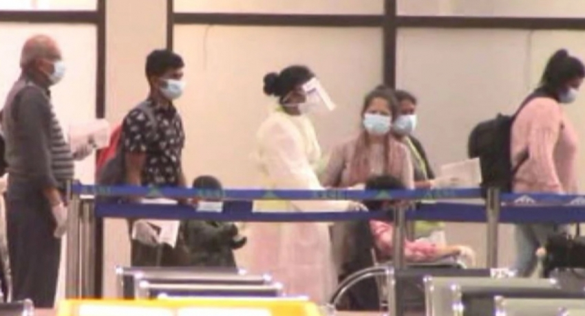 Over 700 Sri Lankans repatriated from overseas, arrive in SL