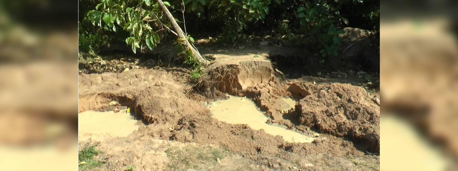 Sand mining in Anamaduwa raises concerns