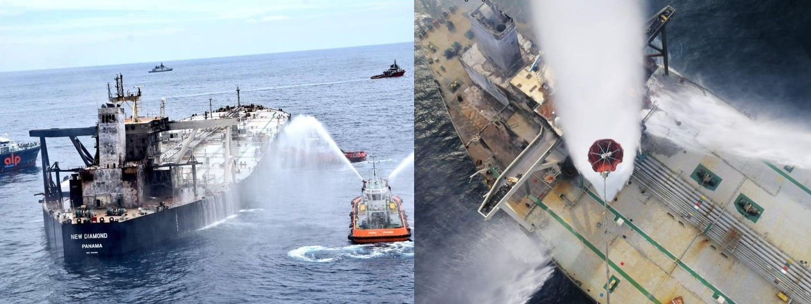 MT New Diamond salvage operations are currently underway – SL Navy