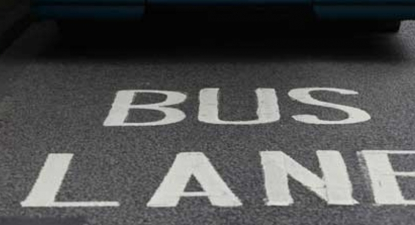 Bus Priority Lane Rule to come in to effect from 14th September