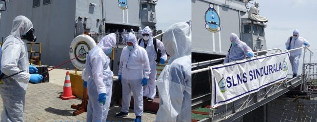 MT New Diamond Crew transferred to Hambantota Port, will be quarantined in Galle