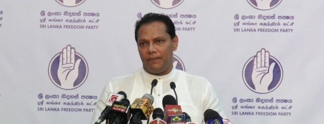 """SLFP must prepare itself to re-enter politics"" – Dayasiri Jayasekera"